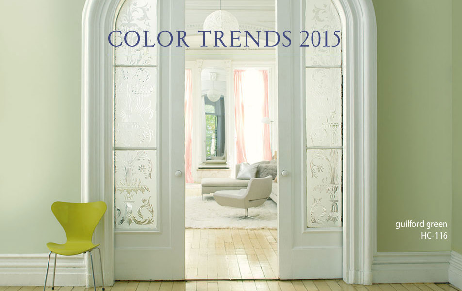 Design Trends – Benjamin Moore's 2015 Color Of The Year