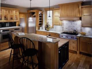 Whistler Arts & Crafts Kitchen