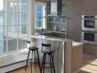 Contemporary Waterfront Kitchen